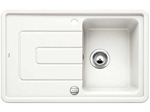 BLANCO tolon 45S cristal blanc céramique Coussin pour évier mitigeur évier de...