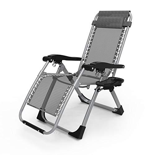 Fauteuil de terrasse de repos extérieur pour chaises de patio inclinable pliant réglable en textile résistant aux intempéries pour la piscine de véranda