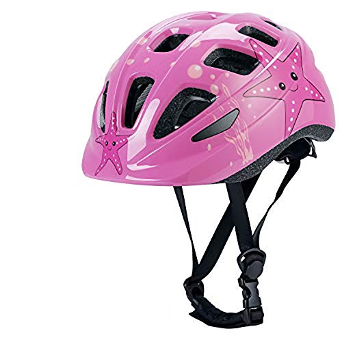 Ledivo Kids Bike Helmet-Adjustable from Toddler to Youth Size Ultralight Kids Bicycle Helmet for Ages 3-12 Years Boys Girls,CPSC Certified for Safety and 17 Breathable Vents Comfort (Pink)
