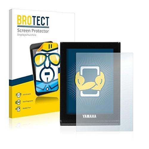 2X BROTECT HD Clear Displayschutz Schutzfolie für Yamaha LCD Display (E-Bike Display) (kristallklar, extrem Kratzfest, schmutzabweisend)
