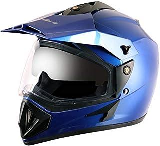 Vega - OR-D/V-MB_L Off Road D/V Blue Helmet-L