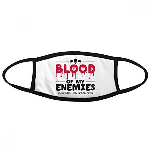 Zombie Biochemische Horror Bloedige Kidding Thema Engels Gift Gezicht Anti-stof Masker Anti Koud Maske Gift