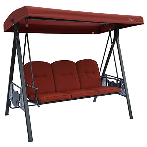 Kozyard Herbert 3 Person Outdoor Deluxe Patio...