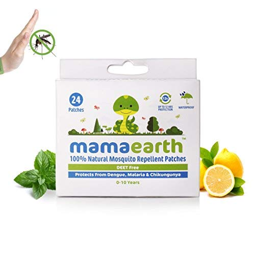 Mamaearth Natural Repellent Mosquito Patches for Babies with 12 Hour Protection