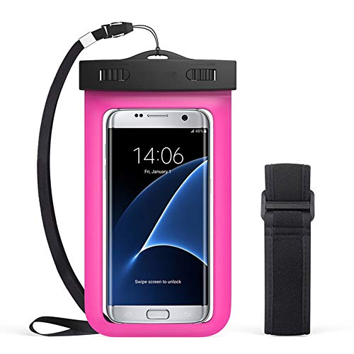 Universal Waterproof Case 1 Pack - Ipx8 Waterproof Phone Pouch Dry Bag for...