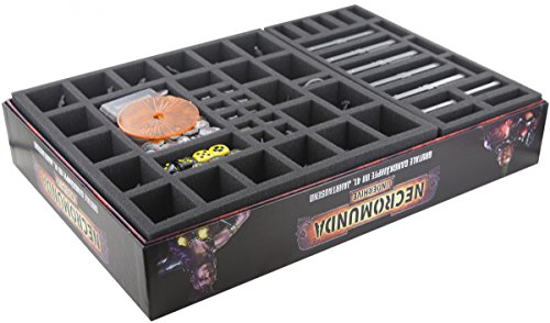 Feldherr Foam Tray Set for Necromunda: Underhive boardgame Box