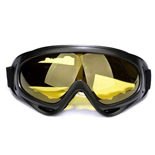 XATAKJJ Gafas de ciclismo para motocicleta, gafas de esquí al aire libre a prueba de viento, gafas de snowboard, gafas de esquí, ciclismo, MTB, vidrio para bicicleta de carretera