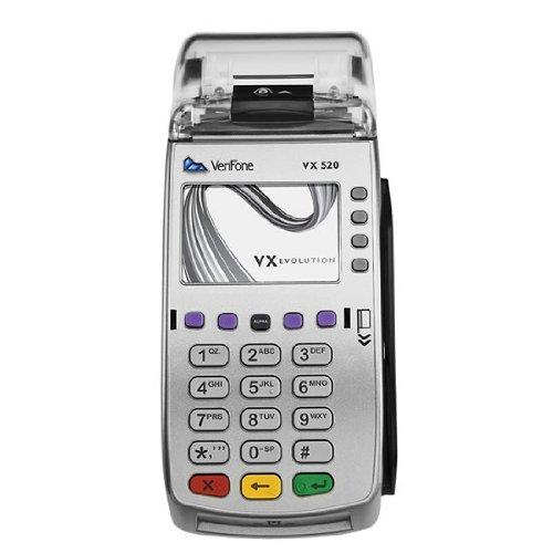 Vx 520 Dial/ethernet Dual Communications, 160mb Terminal - Model - VeriFone M252-753-03-NAA-2