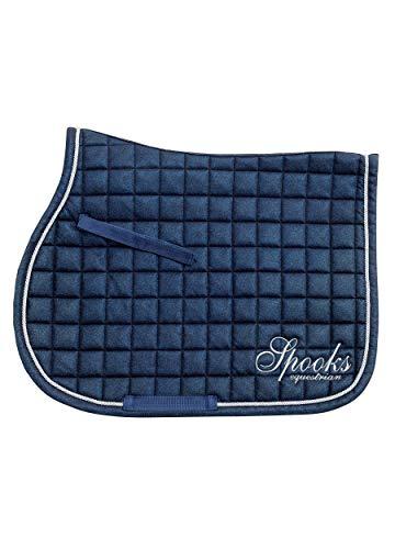 Saddle Pad Glitter (Farbe: blue; Größe: jumping)