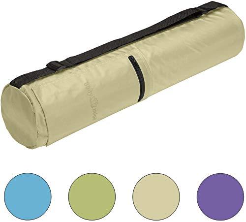 Body & Mind - Borsa per tappetino da yoga fino a 190 x 65 cm, in 4 colori Beige