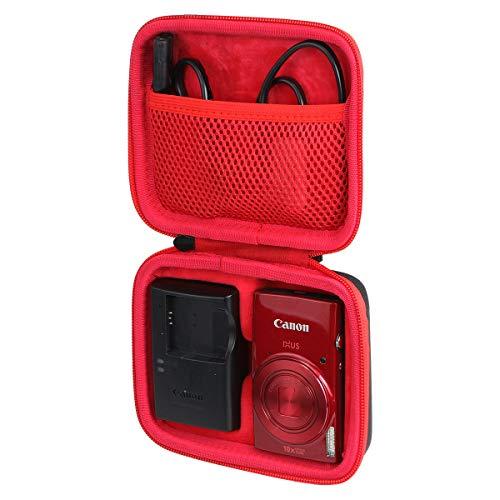 Khanka Hard Travel Case Replacement for Canon PowerShot ELPH 180/190 / 360 Digital Camera