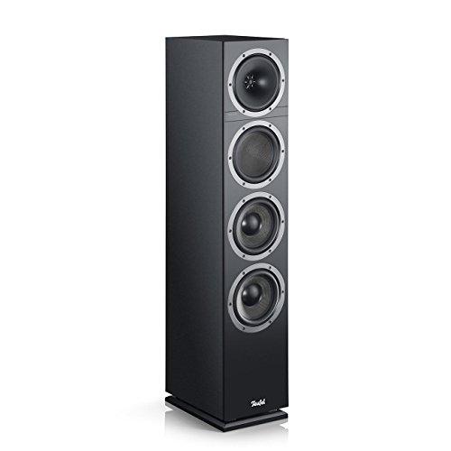 Teufel Theater 500 Schwarz Stereo Lautsprecher Musik Sound Hochtöner Mitteltöner Bass Speaker High End HiFi Tieftöner Schalldruck Soundanlage
