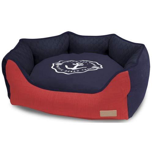 Croci Ocean Travel Oval huisdier bed, afmeting: 50x40x17 cm