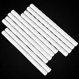 Hztyyier 10 Pezzi Umidificatori filtri spugne, spugne di Ricambio Filtro in Cotone spugne pulite Ricarica Stick, 8 x 123 mm/per Pezzo
