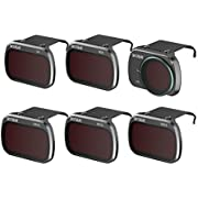 Skyreat ND Filters Set for DJI Mavic Mini Accessories,6 Pack-(CPL, UV, ND8, ND16, ND32, ND64)