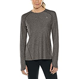 Coolibar UPF 50+ Women's Devi Long Sleeve Fitness T-Shirt...