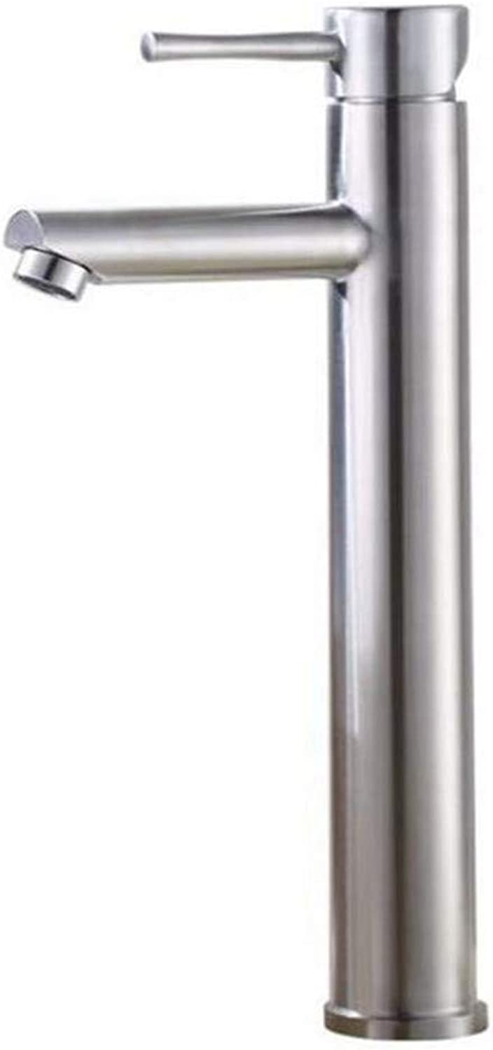 Kitchen Bath Basin Sink Bathroom Taps Taps Mixer Steel Face Basin Cold and Hot Water Faucet Ctzl0542
