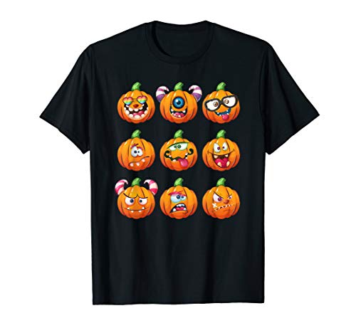 Pumpkin Face Emoticon Halloween Costume