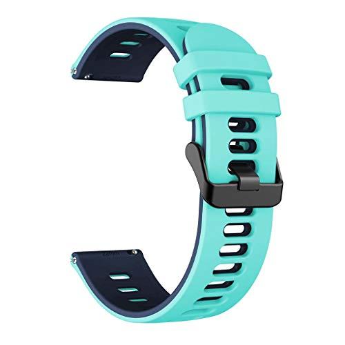 WE-WHLL i Correa de Reloj para Huawei Watch GT2 / -Samsung -GalaxyWatch3 / -AmazfitGTR Correa de Silicona-MGB