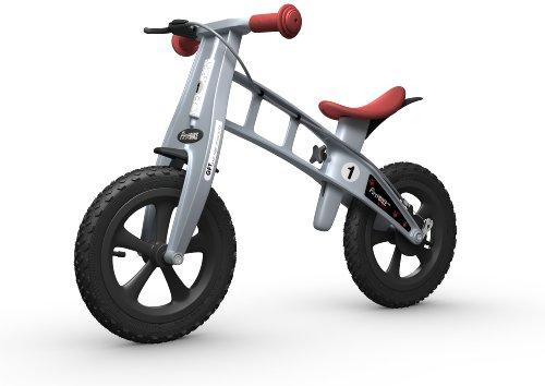 FirstBIKE Cross Bike with Brake, Silver L2002