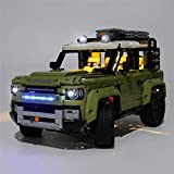 Likecom Juego de luces LED para Land Rover Defender, compatible con Lego 42110, sin set Lego