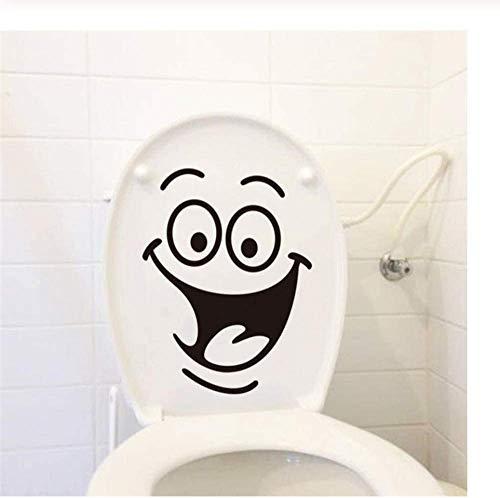 3Ps Smiley Big Mouth Smile Toilettenaufkleber Diy Möbel Dekorative Wandtattoos Kühlschrank Waschmaschine Aufkleber Badezimmer Auto 18X24
