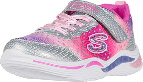 Skechers 20335L-SLPK_35 Sports Shoes,Sneakers, Silver, EU