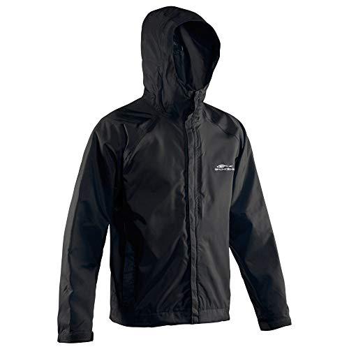Grundéns Weather Watch Hooded Fishing Jacket, Black - Large