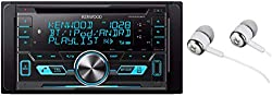 Kenwood Double-DIN In-Dash CD/MP3/USB Bluetooth AM/FM Car Stereo Receiver