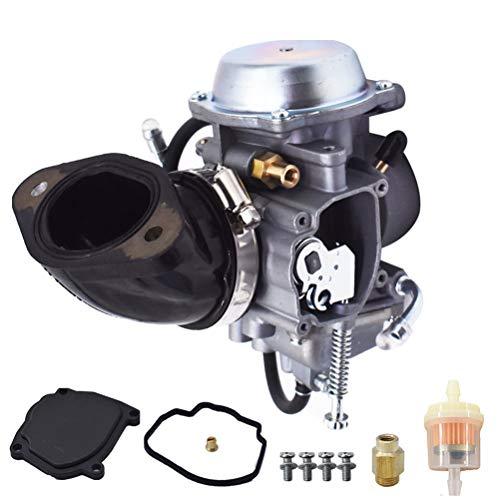 Carburetor Carb Replacement for Polaris 400 Sportsman 2001-2014 PD34J-3 Big Boss 500 1998-1999, Scrambler 500 1997,Sportsman 500 1996-2000