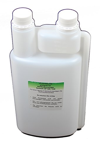 Dosierflasche geeignet für Vorwerk Kobold Hartbodenreiniger SP520 und SP530