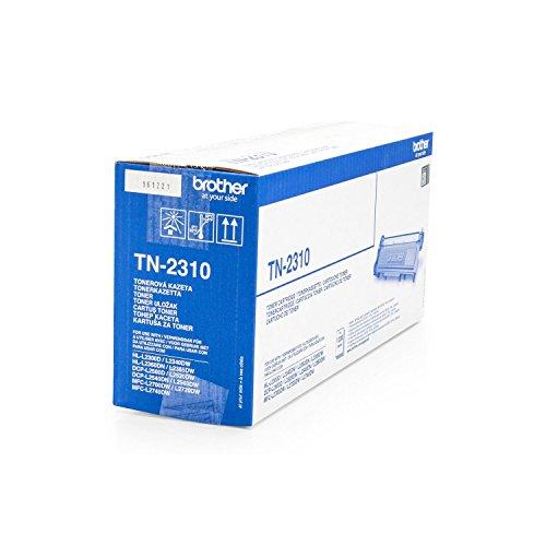Original Brother TN-2310 /, für MFC-L 2700 DN Premium Drucker-Kartusche, Schwarz, 1200 Seiten