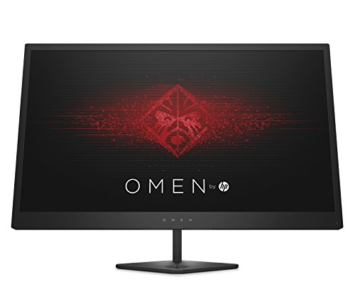 Omen by HP 25-Inch FHD Gaming Monitor with Tilt Adjustment and AMD Freesync...