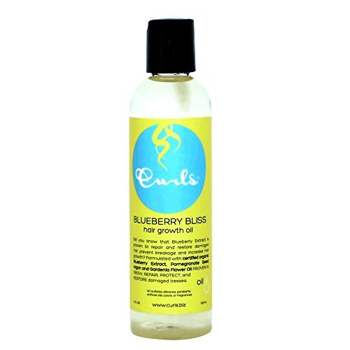 Curls Blueberry Bliss Hair Growth Oil 4oz by Curls