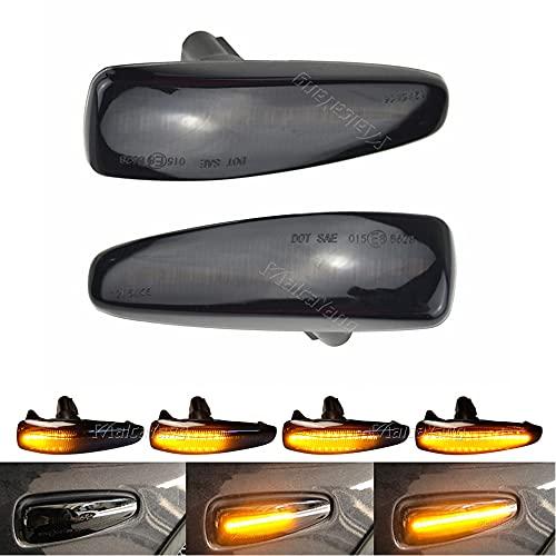 Dinamici LED Indicatore di direzione laterale per Mit-subishi Lancer Evolution X Evo X Outlander Sport RVR ASX Mirage