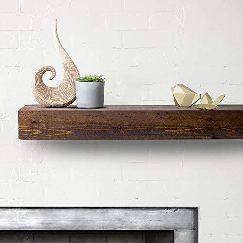 Imperative Décor Floating Shelves Rustic Wood Wall Shelf USA Handmade | Set of 2 (Special Walnut, 24