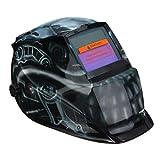 ZHQHYQHHX Caretas para soldar El Mejor Precio de oscurecimiento Auto Solar soldadores Soldadura Cabeza del Casco Escudo de Pulido de la Cara Llena Cobertura Soldadura Cascos