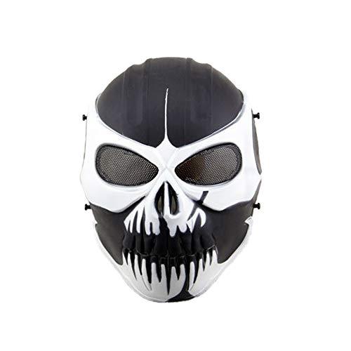 Purge Skull Masquerade Airsoft Tactical Mask Costume Carnival Full Face Protección Para Los Ojos Máscaras De Halloween Para Adultos Cosplay Party,E