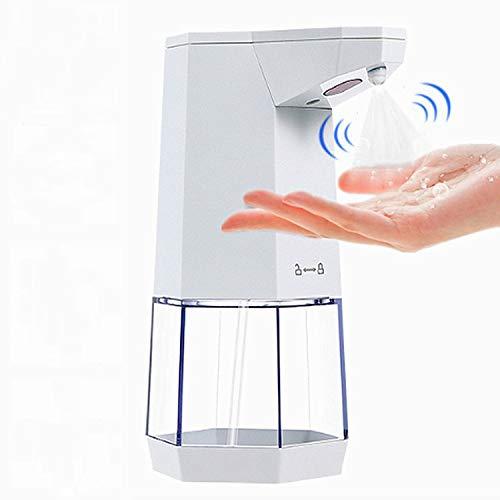 Churidy Automatisch Desinfektionsspender 360ml Automatisk Sprühspender mit Sensor Elektrischer Seifenspender für Küchen und Badezimmer Waschraum/öffentlicher Ort/Schule/Hotel, Wandmontage, weiß