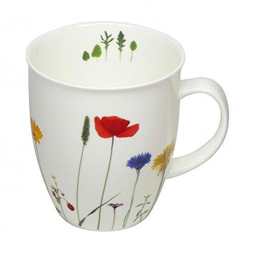 Cup und Mug Becher Soul Naturwiese Blumen 400ml
