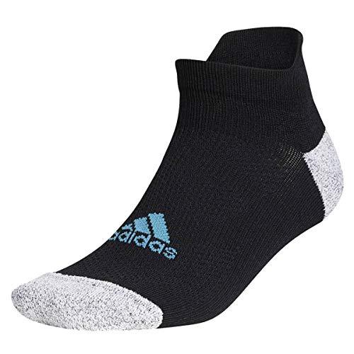 adidas Golf Mens Tour Ankle Socks - Black/Hazy Blue - UK 8.5-11