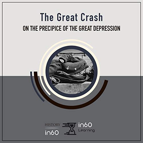 The Great Crash audiobook cover art