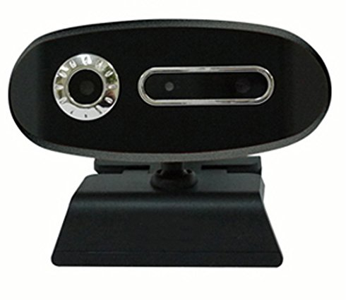 WEBカメラ 3D PCカメラ 3Dメガネ skype スカイプ ビデオチャット 30万画素 | CS-3DW300 (ブラック)