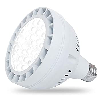 50W LED Pool Light for Inground Swimming Pool 120V 5000LM Daylight Swimming Pool LED Light Bulb Replacement for 300-800W Traditional Bulb Fit in for Pentair and Hayward Pool Light Fixtures