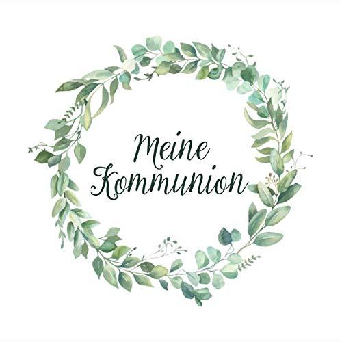 Meine Kommunion: Erinnerungsalbum & Kommunionsalbum für Jungen und Mädchen | Geschenk zur...