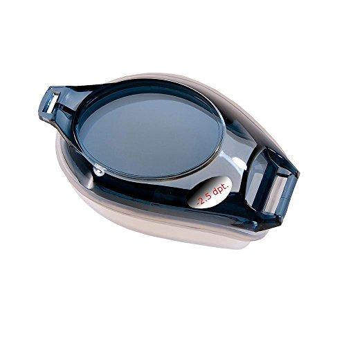 Fashy® zwembril met gezichtsdikte: links en rechts glas naar wens selecteerbaar van 0,0 tot -8 met anti-condenslaag en 100% UVA/UVB-bescherming, TÜV-getest en CE-markering - (Made in Germany)
