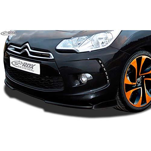 RDX Racedesign RDFAVX30204 Spoiler Avant Vario-X3, Noir