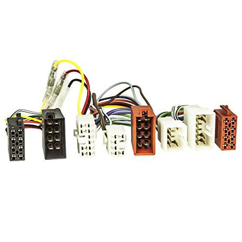 tomzz Audio 7355–000ISO DI DERIVAZIONE cavo adattatore (T) per Toyota, Daihatsu, Subaru per vivavoce con connettore ISO (ad esempio Parrot THB, Funkwerk Dabendorf)