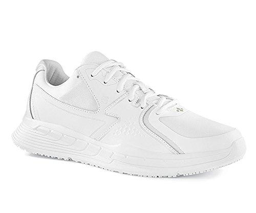 Shoes for Crews 29166-46/11 CONDOR Rutschhemmende Turnschuhe, Größe 46 EU, Weiß