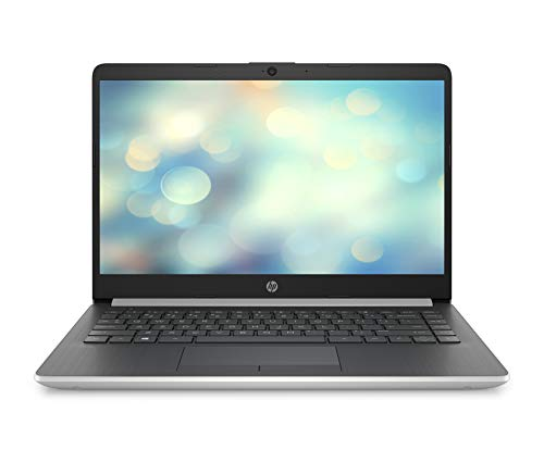 HP 14-dk0006ng (14 Zoll / FHD IPS) Laptop (AMD Ryzen 5 3500U, 8 GB DDR4 RAM, 256 GB SSD, AMD Radeon RX Vega 8, Windows 10 Home) silber